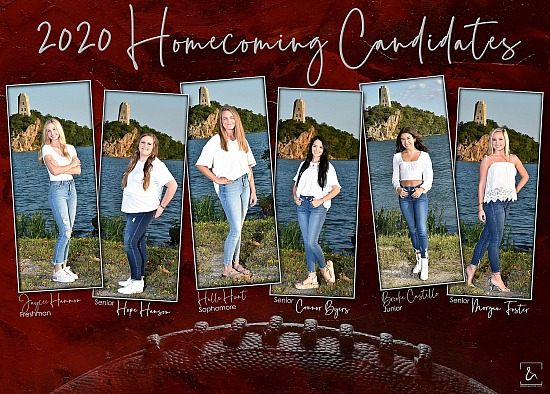 Plainview Homecoming Candidates